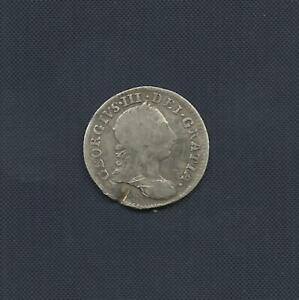 UK MAUNDY 3 PENCE 1762   GEORGE III