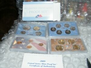 2009 UNITED STATES MINT UNCIRCULATED PROOF SET W/COA IN ORIGINAL PACKAGING