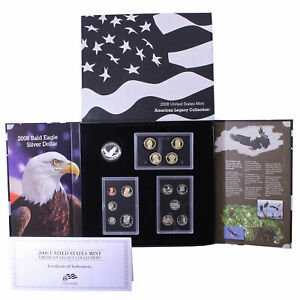 2008 S AMERICAN LEGACY COLLECTION PROOF SET 15 US MINT COINS