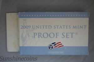 2009 U.S. MINT PROOF SET WITH CERTIFICATE OF AUTHENTICITY