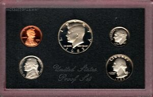 1983 S U.S. PROOF SET IN OGP NICE CAMEO'S.. A QUALITY SET HERE C2729