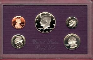 1987 S U.S. PROOF SET IN OGP WITH COA.. A QUALITY SET HERE C2724