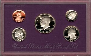 1989 S U.S. PROOF SET IN OGP WITH COA.. A QUALITY SET HERE C2723