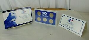 UNITED STATES MINT 2003 50 STATE QUARTERS PROOF SET IN BOX WITH COA
