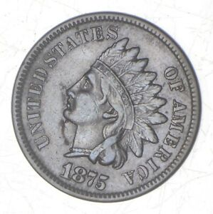 1875 INDIAN HEAD CENT  7017