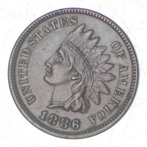 1886 INDIAN HEAD CENT   TYPE 1  7040