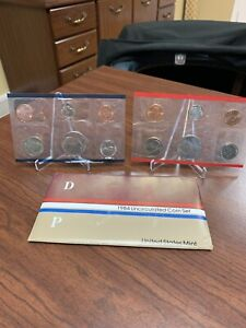 1984 US MINT SET ENVELOPE COA P & D UNCIRCULATED COIN SET.