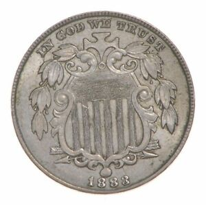 1883 SHIELD NICKEL  4757