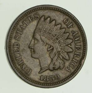 1859 INDIAN HEAD CENT   CIRCULATED  4372