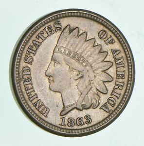 1863 INDIAN HEAD CENT  4965