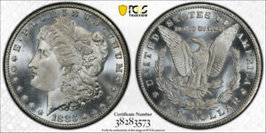Click now to see the BUY IT NOW Price! 1883 CC $1 MORGAN DOLLAR PCGS MS 67  CAC APPROVED BLAST WHITE STUNNING