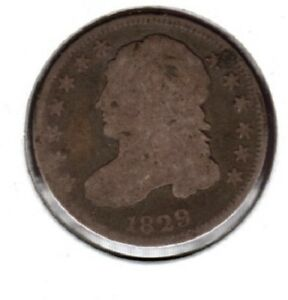 1829 CAPPED BUST DIME GRADES GOOD/AG YOU CAN BUY IT NOW  C37