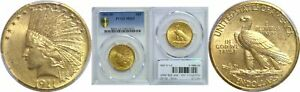 1911 D $10 GOLD COIN PCGS MS 62
