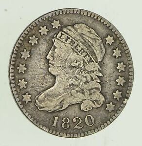 1820 CAPPED BUST DIME   CIRCULATED  4682