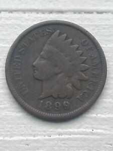 1899 P INDIAN HEAD CENT PENNY EXACT COIN PICTURED  SELLER  113