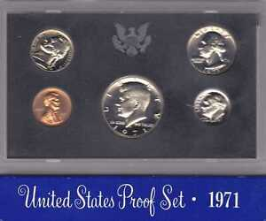 1971 S US MINT 5 COIN PROOF