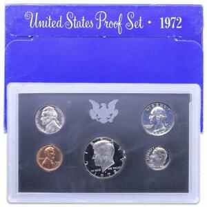 1972 S US MINT 5 COIN PROOF
