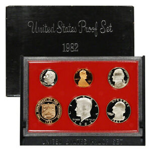 1982 S US MINT 6 COIN PROOF