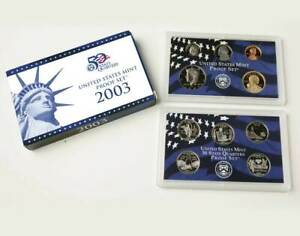 2003 S US MINT 10 COIN PROOF NO BOX