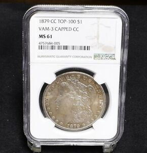 Click now to see the BUY IT NOW Price! 1879 CC MORGAN DOLLAR   VAM 3 CAPPED CC   TOP 100   NGC MS61  29860
