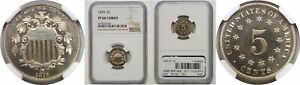 1879 SHIELD NICKEL NGC PR 66 CAM