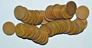 LOT OF FIFTY  50  WHEAT PENNIES