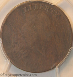 1793 S4 R3 CHAIN LARGE CENT PERIODS AMERICA PCGS VG10 EX HERITAGE