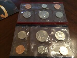 1995 US MINT SET IN ORIGINAL ENVELOPE. COINS ARE IN ORIGINAL MINT CELLO/ENVELOPE