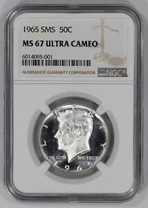 Click now to see the BUY IT NOW Price! 1965 SMS KENNEDY HALF DOLLAR 50C NGC MS 67 MINT UNCIRCULATED   ULTRA CAMEO  001