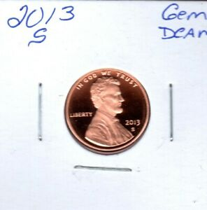 2013 S LINCOLN SHIELD CENT GEM PROOF DEEP CAMEO . FL367