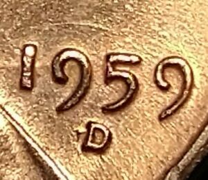RPM MINT ERROR 1959 D/S LINCOLN MEMORIAL CENT