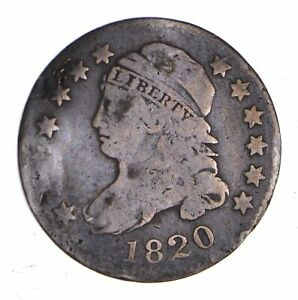 1820 CAPPED BUST DIME   CIRCULATED  1154