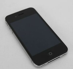 FAULTY APPLE IPHONE 4S MODEL NO. A1387 BLACK FOR SPARES/REPAIR