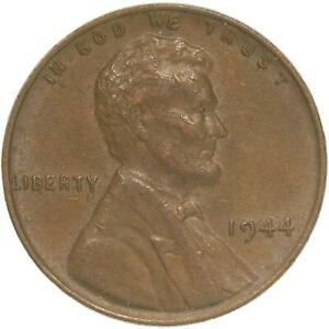 1944 LINCOLN WHEAT CENT EXTRA FINE PENNY XF