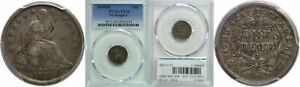 1839 O SEATED LIBERTY DIME PCGS VF 30 NO DRAPERY