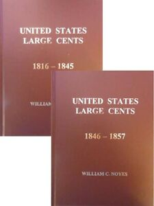 UNITED STATES LARGE CENTS 1816 1845 VOL. 5 & 1846 1857 VOL. 6 FULL COLOR STATES