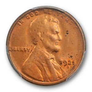 Click now to see the BUY IT NOW Price! 1925 S 1C LINCOLN WHEAT CENT PCGS MS 64 RD RED UNCIRCULATED TOUGH IN RED