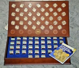 Click now to see the BUY IT NOW Price! 2007 2016 UNC COMPLETE SET PRESIDENTIAL DOLLARS W/BEAUTIFUL  WOOD DISPLAY BOX