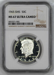 Click now to see the BUY IT NOW Price! 1965 SMS KENNEDY HALF DOLLAR 50C NGC CERTIFIED MS 67 MINT UNC   ULTRA CAMEO  002