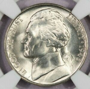 Click now to see the BUY IT NOW Price! 1945 S JEFFERSON NICKEL NGC MS67 5FS FS BEAUTIFUL FLASHY COIN