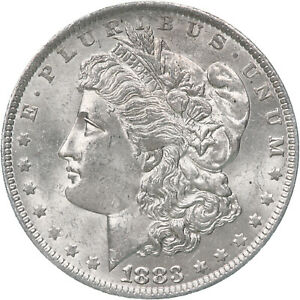 1883 O MORGAN SILVER DOLLAR BU US MINT COIN