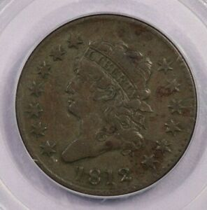 1812 P 1812 CLASSIC HEAD CENT PCGS VF35 OLD GREEN HOLDER