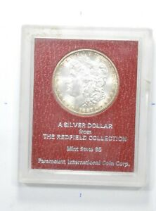 1887 S MORGAN SILVER DOLLAR   THE REDFIELD COLLECTION   65 QUALITY  8232