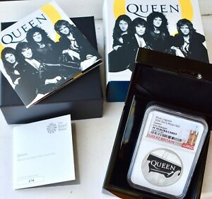 Click now to see the BUY IT NOW Price! 2020 SILVER PROOF QUEEN 5 NGC PF70 TWO OUNCE 2OZ COIN BAND MUSIC LEGENDS