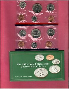 1993 U.S. MINT SET IN ORIGINAL PACKING NICE QUALITY SET HERE FL757