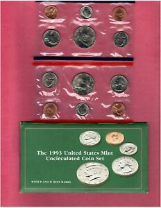 1993 U.S. MINT SET IN ORIGINAL PACKING NICE QUALITY SET HERE FL758