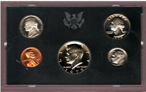 1972 S U.S. MINT PROOF SET IN OGP. NICE QUALITY DEEP CAMEO SET HERE FL779