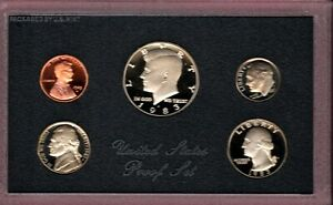 1983 S U.S. MINT PROOF SET IN OGP. NICE QUALITY DEEP CAMEO SET HERE FL781