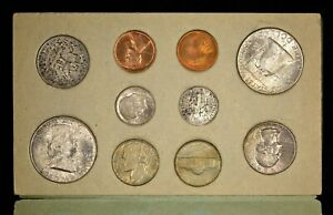 Click now to see the BUY IT NOW Price! 1949 US MINT SET WITH ORIGINAL ENVELOPE AND COINS