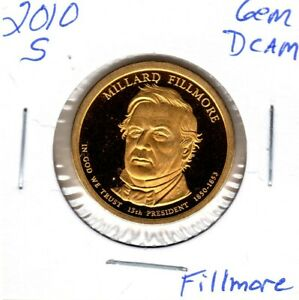 2010 S FILLMORE DOLLAR GEM PROOF DEEP CAMEO NICE  C3137FL